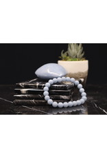 Angelite Bracelet - 8mm