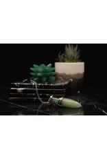 Chambered Pendulum-Green Aventurine