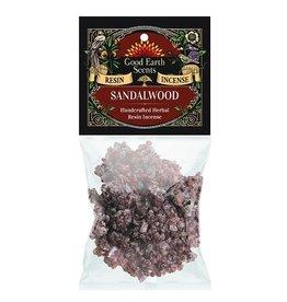 Good Earth Scents/Soul Sticks Sandalwood Resin Incense 1oz
