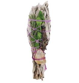 White Sage Stick & Lavender w/Citrine