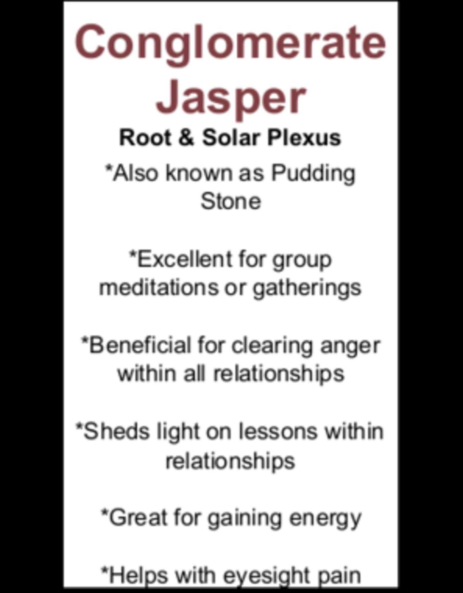 Conglomerate Jasper - Card
