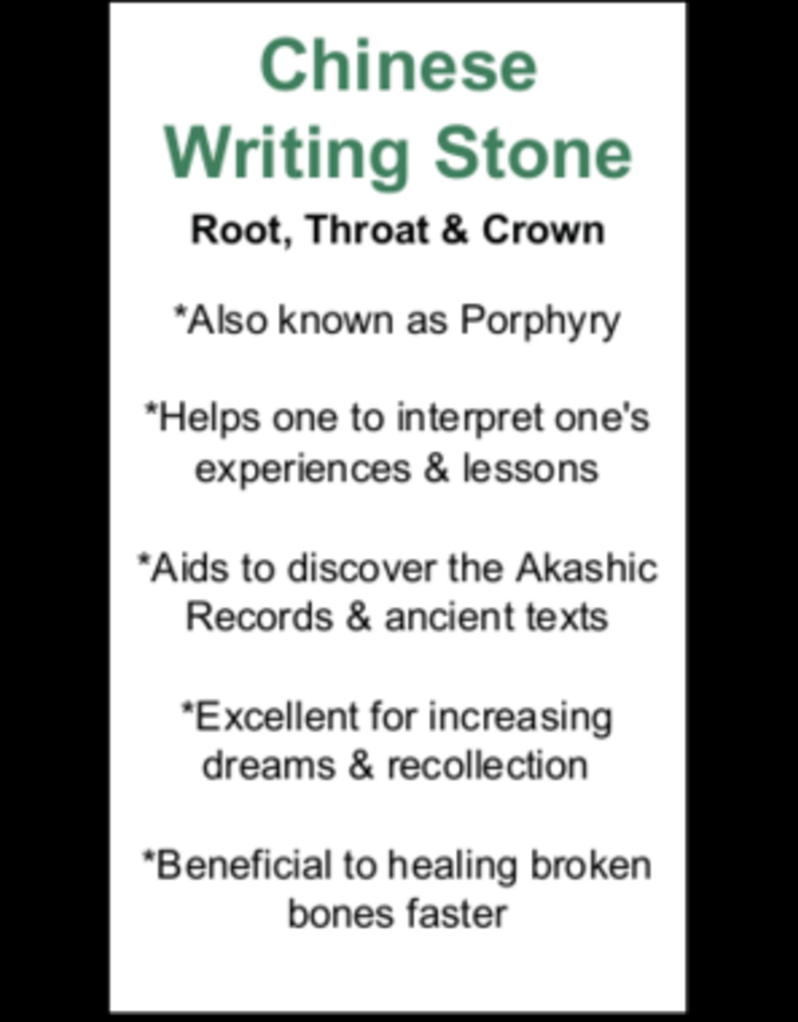 Chinese Writing Stone - Card