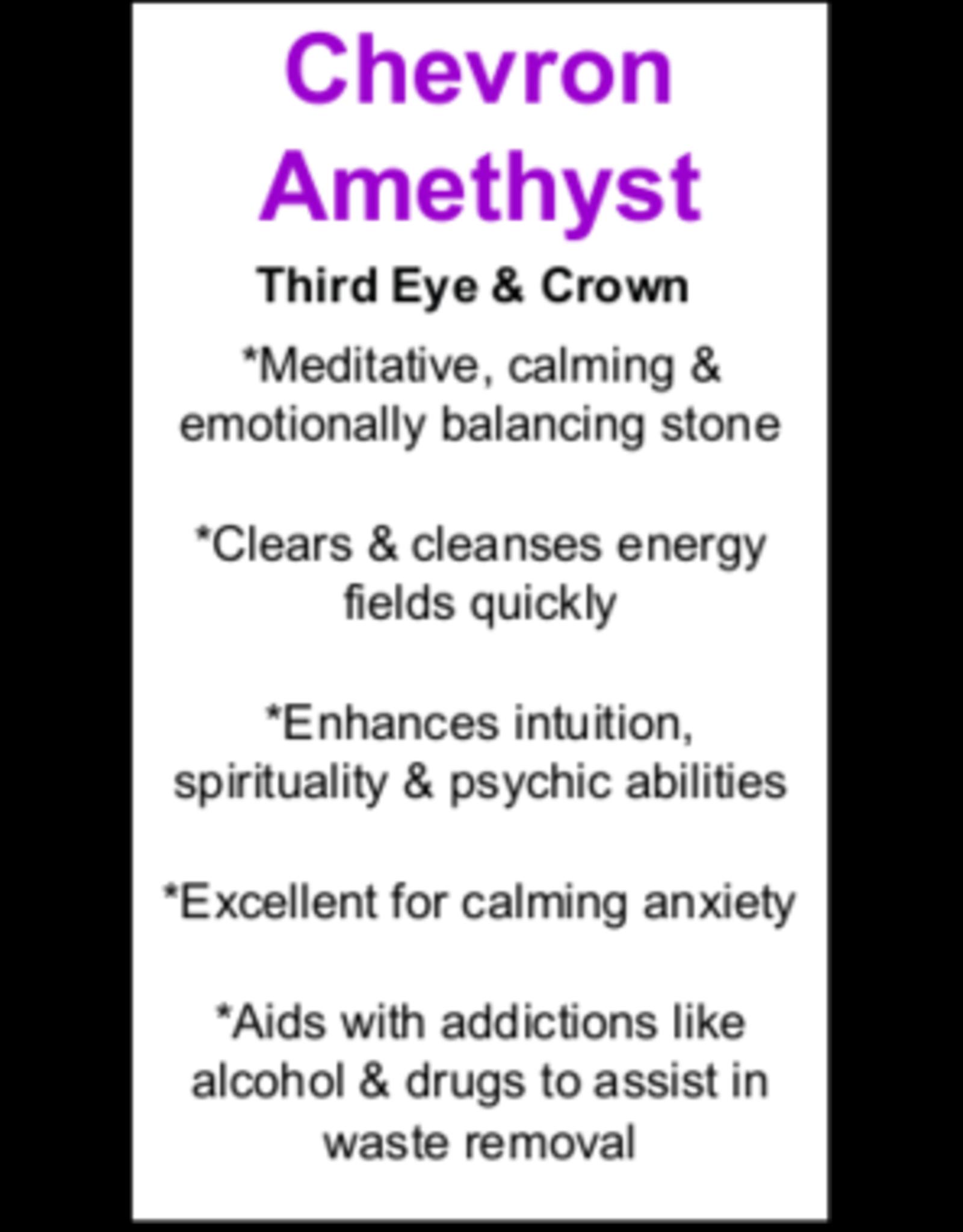 Chevron Amethyst - Card