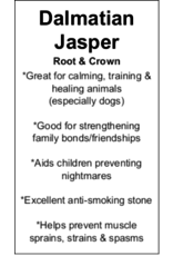 Dalmatian Jasper - Card