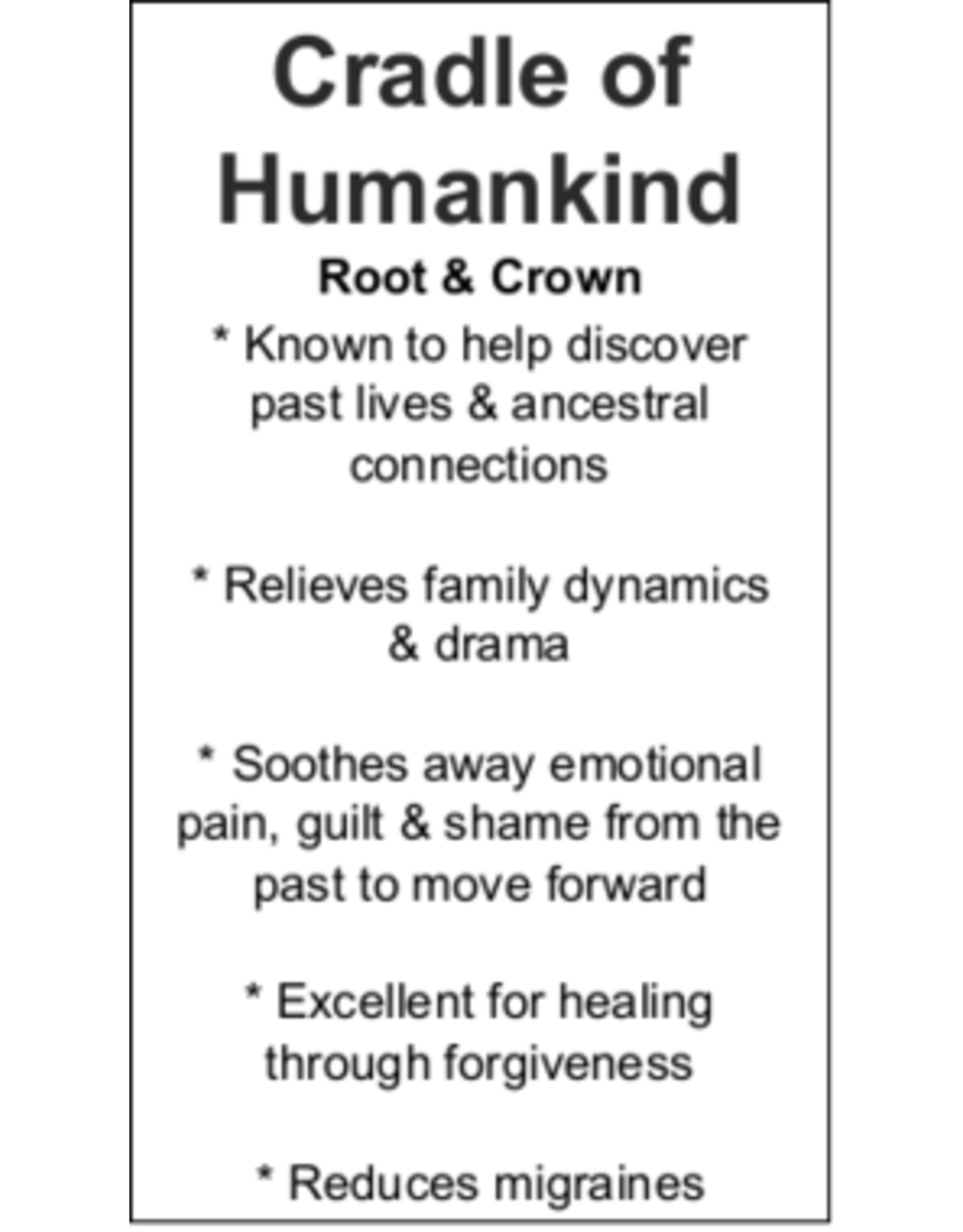 Cradle of Humankind - Card