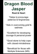 Dragon Blood Jasper - Card