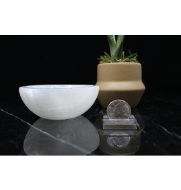 Selenite/Satin Spar Charging Bowl-High Medium