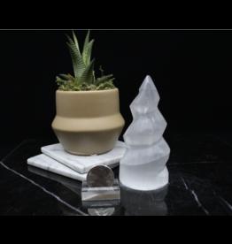 Selenite/Satin Spar Spiral-Small