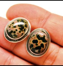 Ocean Jasper Earrings 2 - Stud