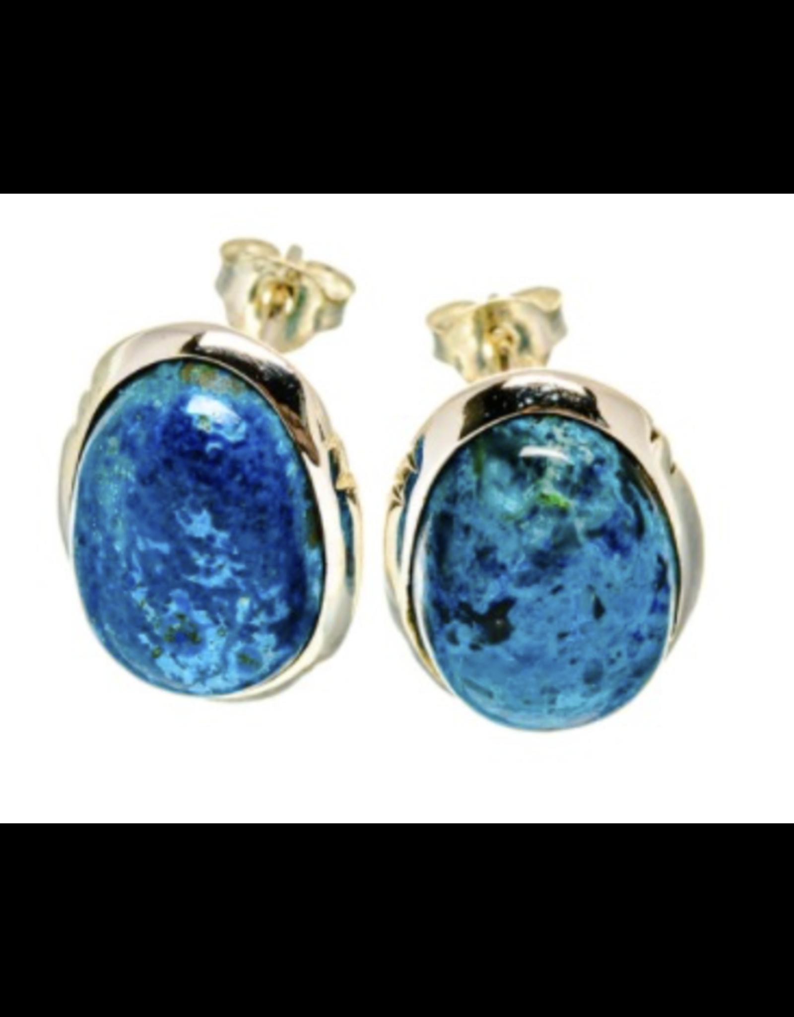 Apatite Earrings - Stud