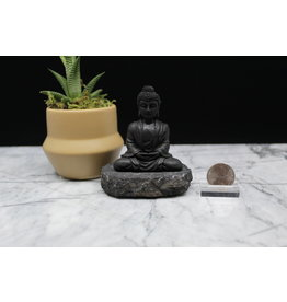 Shungite Sitting Buddha Small