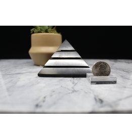 Shungite Sakara Pyramid - 8cm