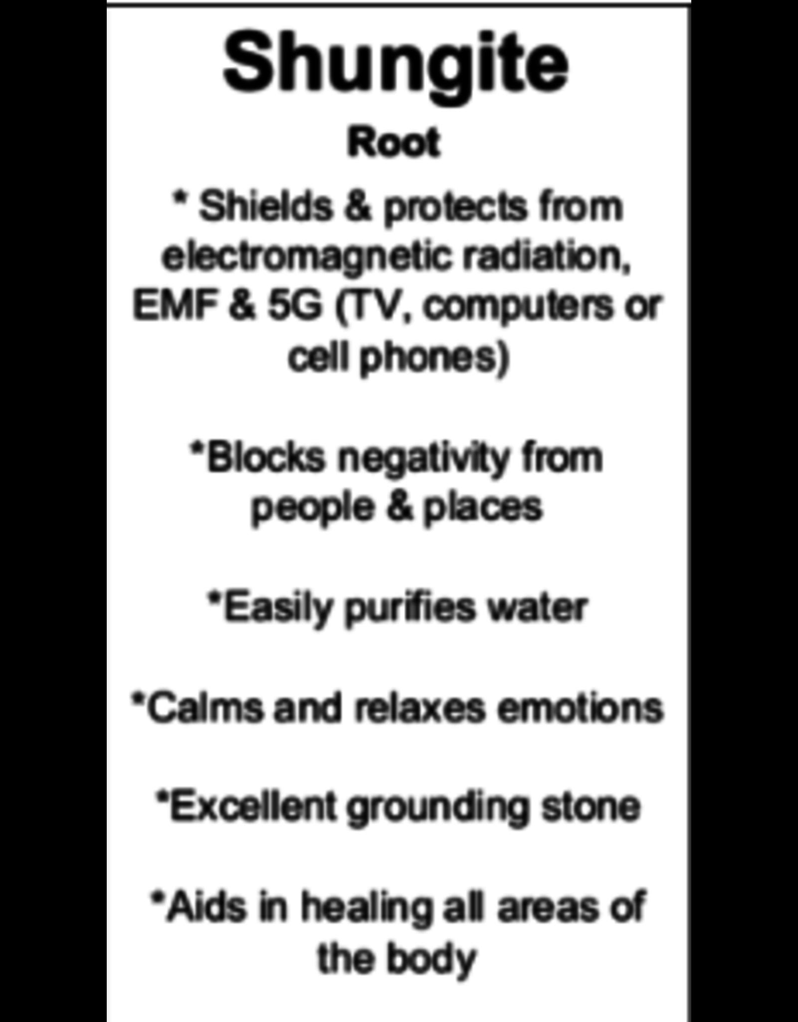 "Faceted Shungite Massage Wand 6"""
