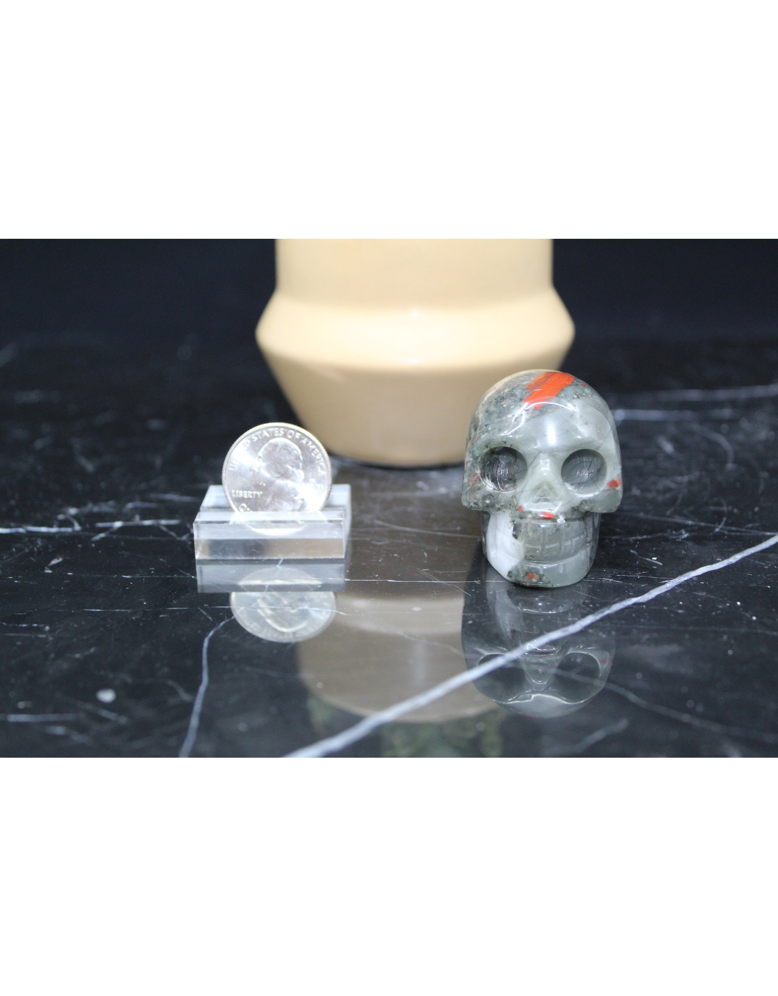 Bloodstone Skull-Medium