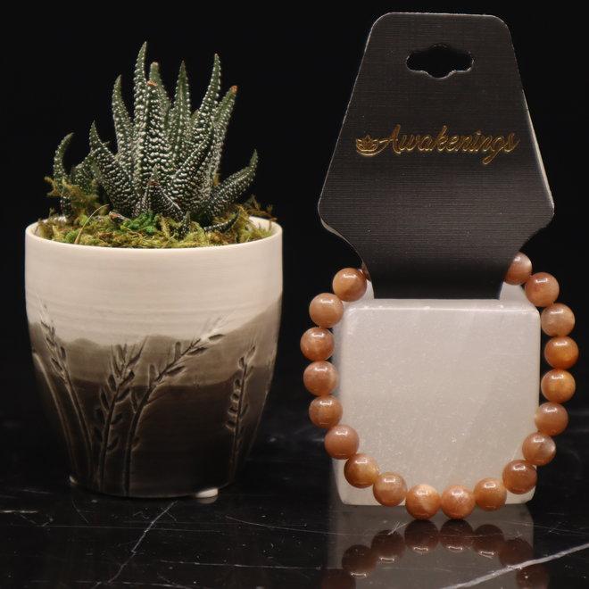 AAA Grade Sunstone Bracelet-8mm