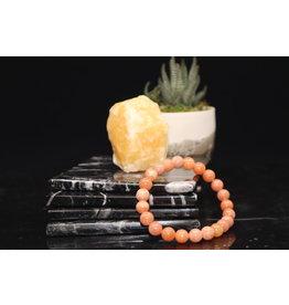 AAA Grade Orange Calcite Bracelet - 8mm