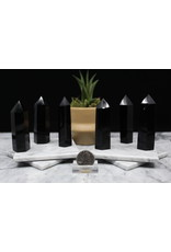 "Black Obsidian Tower/Point - Medium (3-4"")"