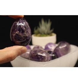 Purple Fluorite Eggs