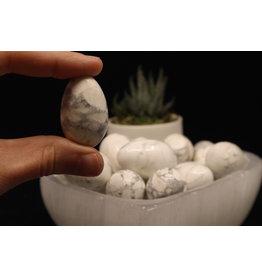 Howlite Egg-Medium