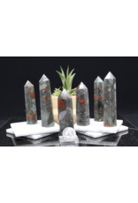 "Bloodstone/Heliotrope Tower/Point-Medium (3-4"")"