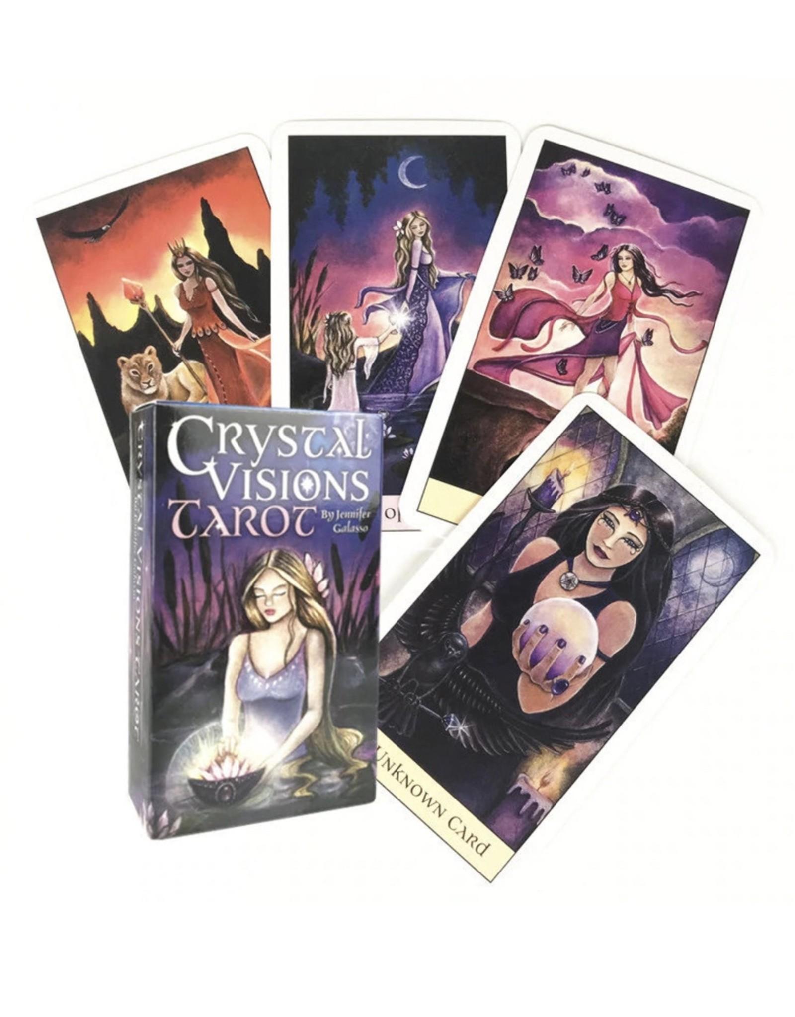 Crystal Visions Tarot-Digital Guidebook