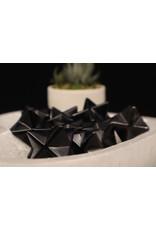 Black Obsidian Merkaba-Medium