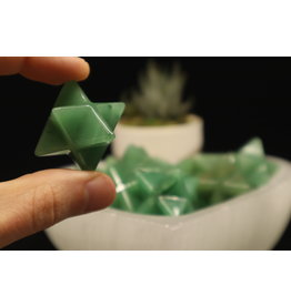 Green Aventurine Merkaba-Medium