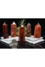"""Carnelian Tower/Point -Large (4-4.5"""")"""