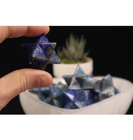 Lapis Lazuli Merkaba-Medium