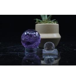 Amethyst Sphere Orb-50mm