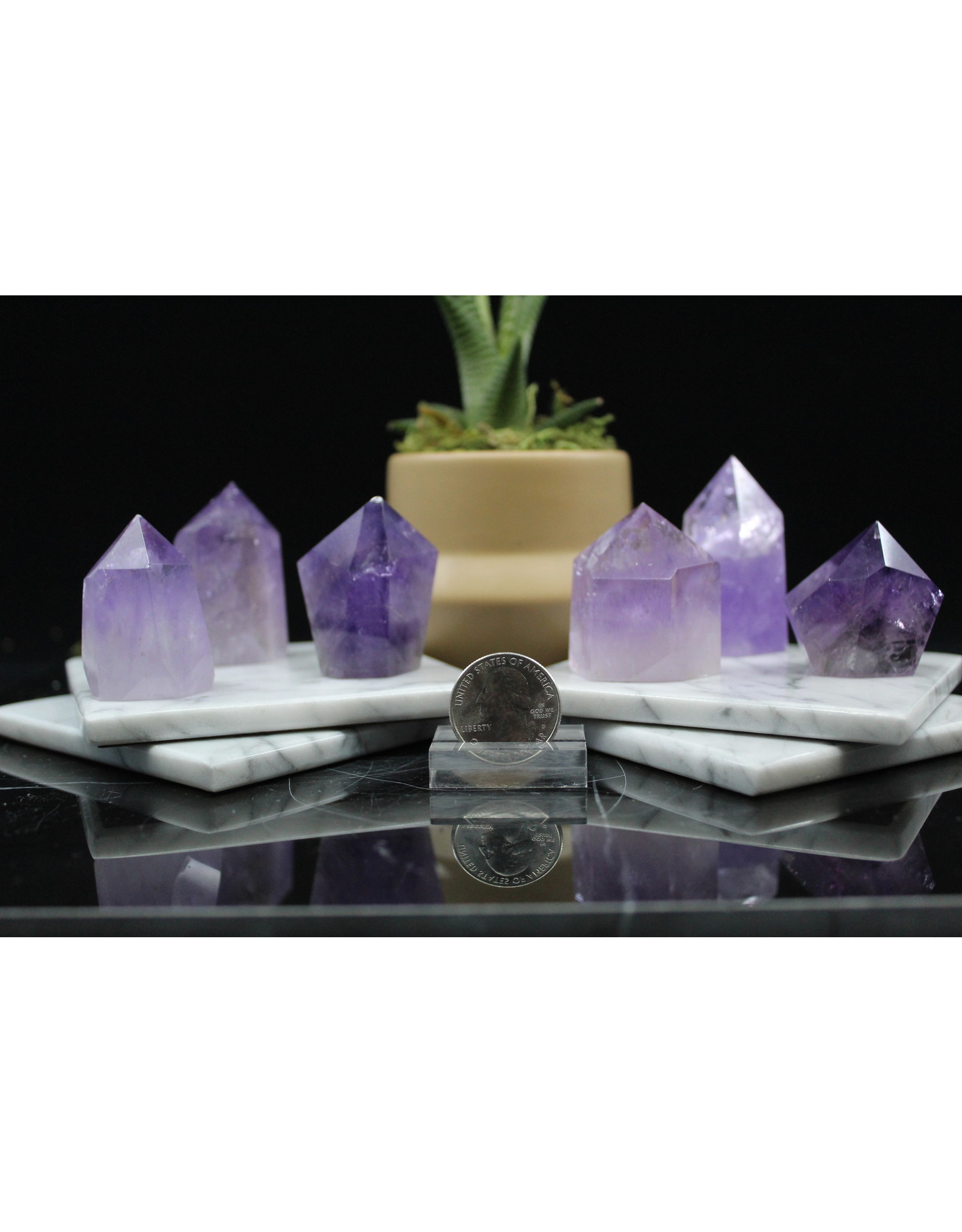 Amethyst Small Tower/Generator/Point 2-3""