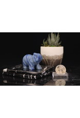 Blue Aventurine Elephant-Medium
