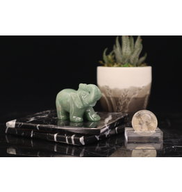 Green Aventurine Elephant-Medium