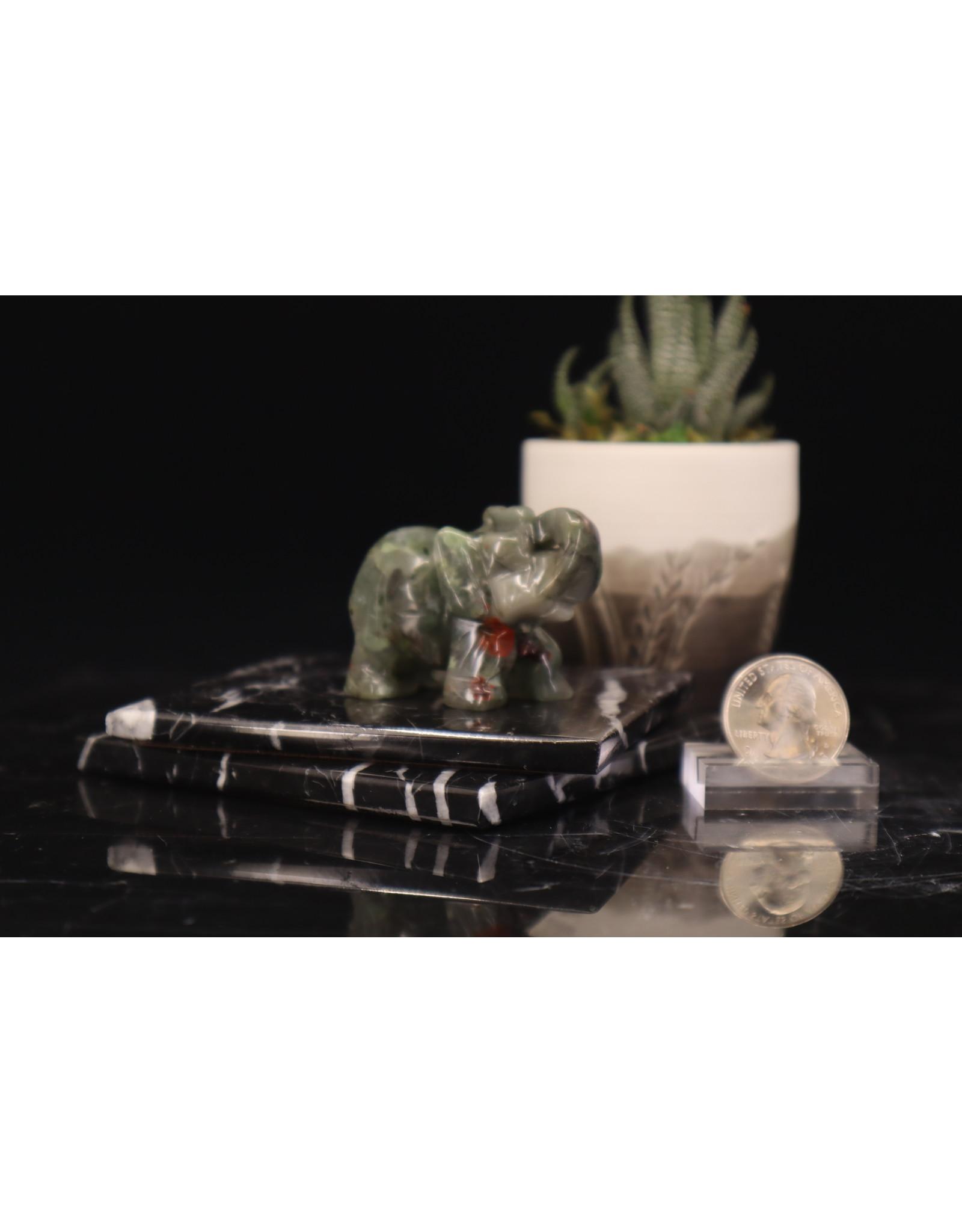 Bloodstone Elephant-Medium
