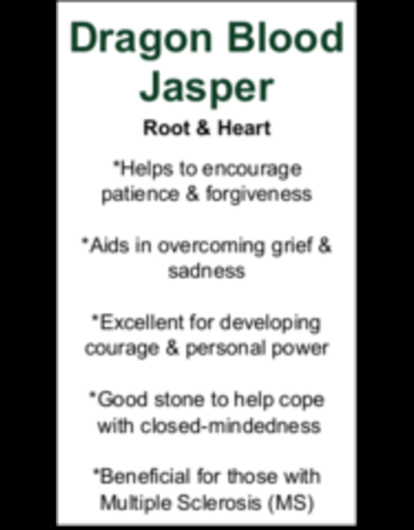 Dragons Bloodstone Jasper Elephant-Medium