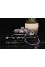 Bracelet -Dumortierite   - 4mm