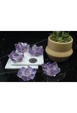 Amethyst Point Flower-Medium