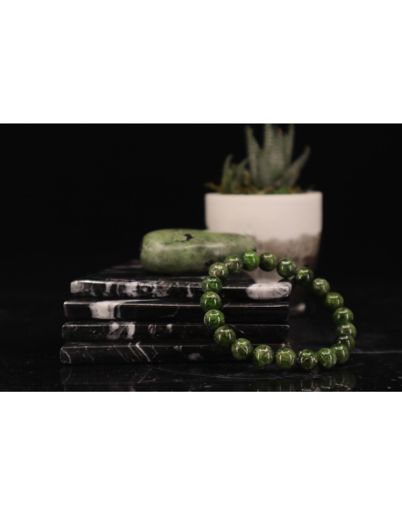Chrome Diopside Bracelet - 8-9mm