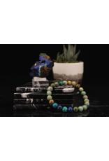 Chrysocolla & Azurite Bracelet - 8mm