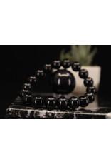 Black Obsidian Bracelet - 10mm