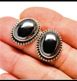 Hematite Earrings - Stud