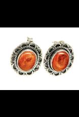 Sunstone Earrings - Stud