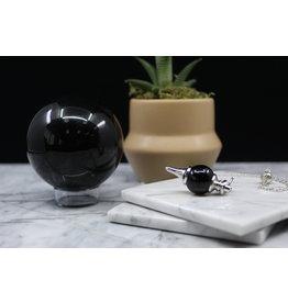 Black Obsidian Sephoroton Round Ball Pendulum