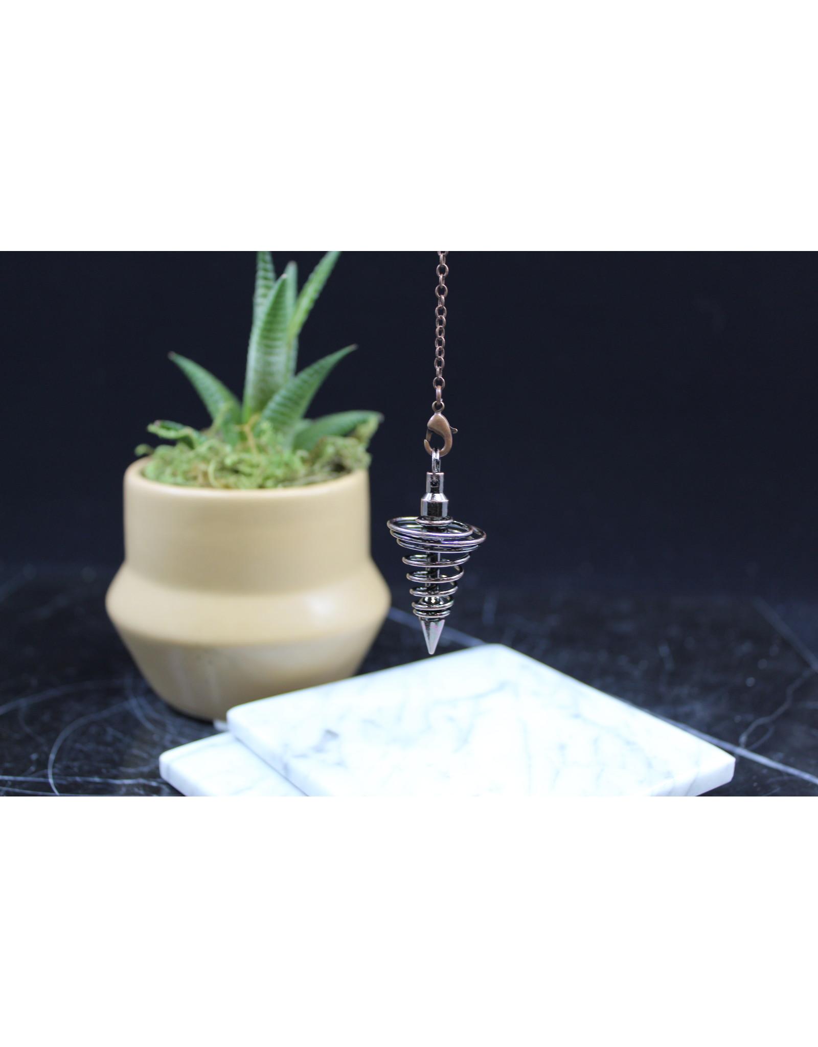 Spiral Vortex Pendulum-Antique Bronze