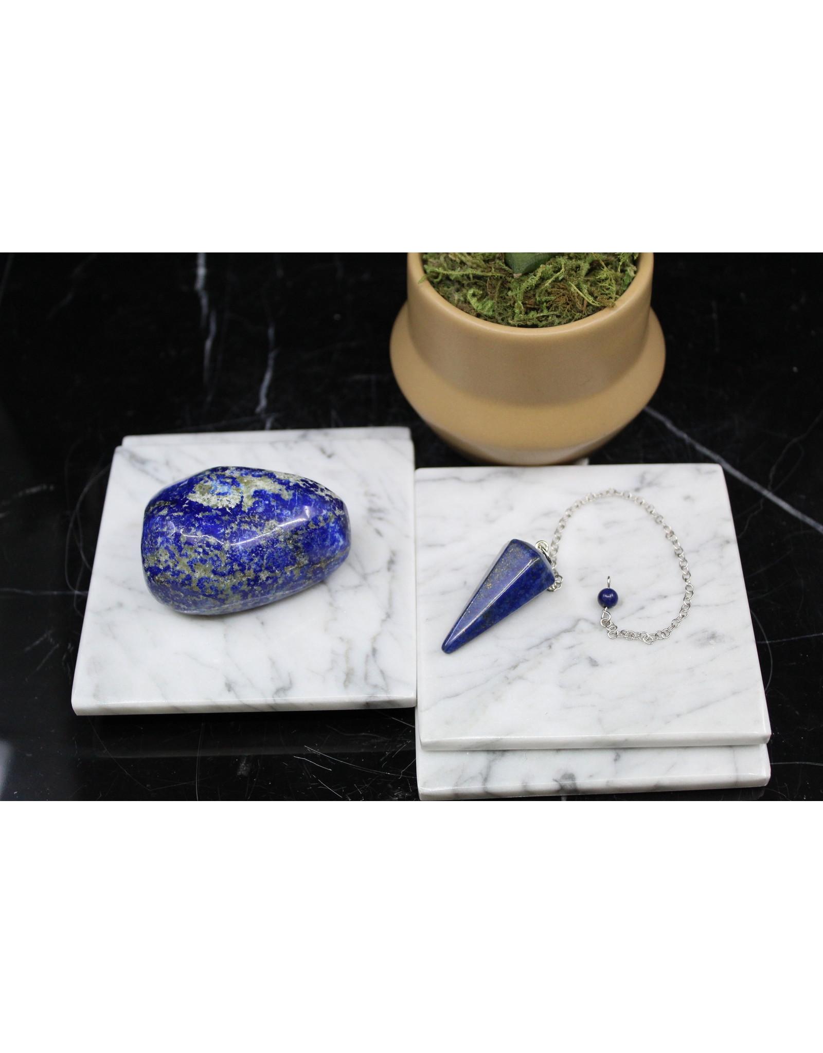 Lapis Lazuli Hexagon Pendulum