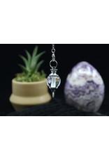 Clear Quartz Round Pendulum