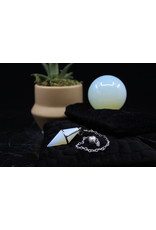 Opalite Diamond Pendulum