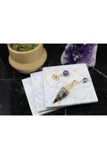 Gold Resin/Orgone Chakra Pendulum