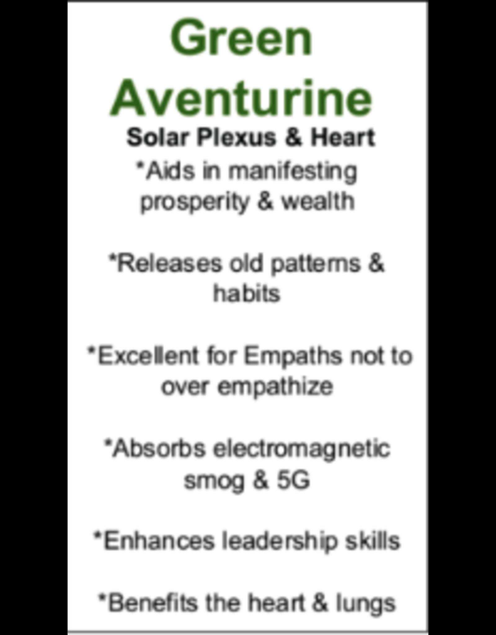 Green Aventurine Hexagon Pendulum