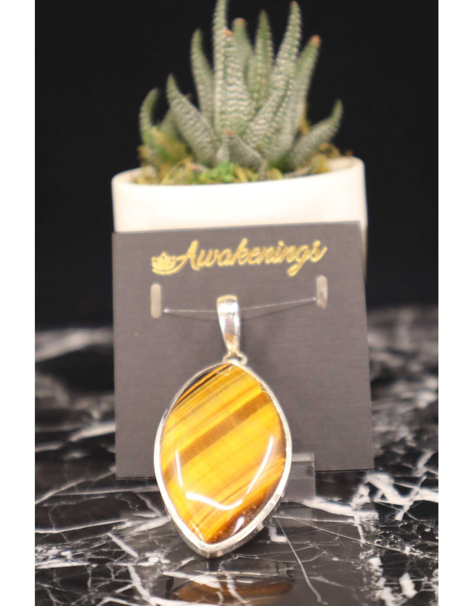 Tiger Eye Pendant #8